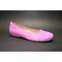 Letní vycházková obuv-baleríny, Gabor, růžová
