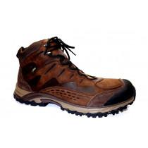 Vycházková obuv, Meindl, Barcelona Mid GTX, tmavě hnědá
