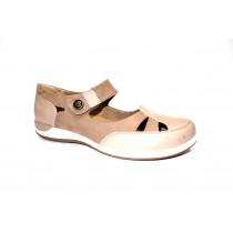 Letní vycházková obuv, Romika, Martha 09, šedobéžová