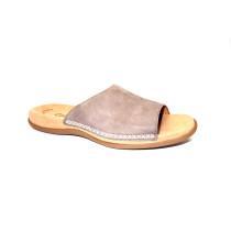 Letní vycházkové pantofle, Gabor, kouřová