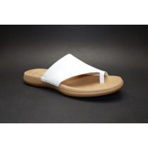 Letní vycházkové pantofle, Gabor, bílá