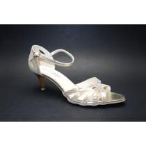 Letní vycházková obuv, De-Plus, šíře G 1/2, F-227 zlatá
