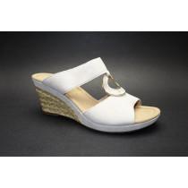 Letní vycházkové pantofle, Gabor, šíře G, béžová