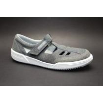 Pracovní obuv-letní, Moleda, Prestige, šíře H, šedá