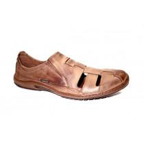 Letní vycházková obuv-flexiblová, Orto Plus, přírodní