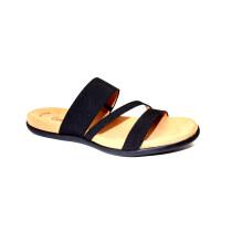 Letní vycházkové pantofle, Gabor, černá