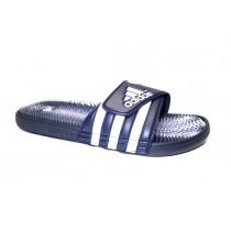 Plážová obuv, Adidas, Santiossage QD, modro-bílá