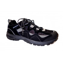 Pracovní obuv, Bennon, Warden-polobotka, černo-šedá