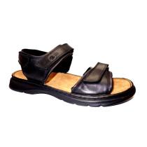 Letní vycházková obuv-flexiblová, Josef Seibel, Rafe, černo-hnědá