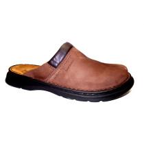 Letní vycházkové pantofle-flexiblová obuv, Josef Seibel, Max, hnědá
