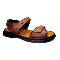 Letní vycházková obuv-flexiblová, Josef Seibel, Rafe, hnědo-černá
