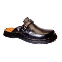 Letní vycházkové pantofle-flexiblová obuv, Josef Seibel, Madrid, černá