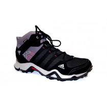 Turistická obuv pro středně náročný terén, Adidas, AX 2 Mid GTX W, černo-šedá