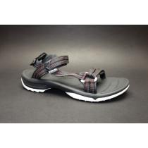 Letní turistická obuv pro středně náročný terén, Teva, W Terra-fi Lite, černá/multi