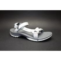 Letní turistická obuv pro středně náročný terén, Teva, W Terra-fi Lite, bílá/multi
