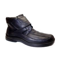 Zimní vycházková obuv, Jomos, Feetback, šíře H, černá