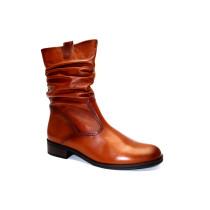 Zimní vycházková obuv-polokozačky, Gabor, šíře G, přírodní