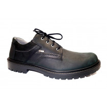 Vycházková obuv, Jomos, Alpina SympaTex, šíře H, černá