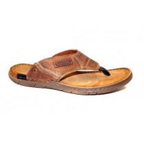 Letní vycházkové pantofle (žabky)-flexiblová obuv, Josef Seibel, Paul 39, přírodní