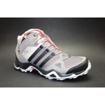 Turistická obuv pro středně náročný terén, Adidas, AX 2 Mid GTX W, hnědo-béžovo-černá