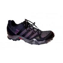 Turistická obuv pro středně náročný terén, Adidas, AX 2 W, černo-růžová