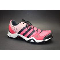 Turistická obuv pro středně náročný terén, Adidas, AX 2 W, červeno-růžovo-černá