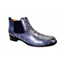 Vycházková obuv-kotníková, Gabor, šedo-modrá