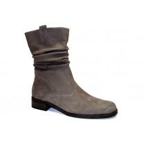 Zimní vycházková obuv-polokozačky, Gabor, šíře G, šedá